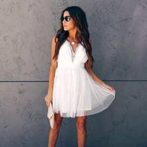 "Vici ""All About You"" Lace Tulle Dress"